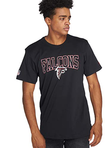New Era Herren T-Shirt NFL Team Atlanta Falcons schwarz XL