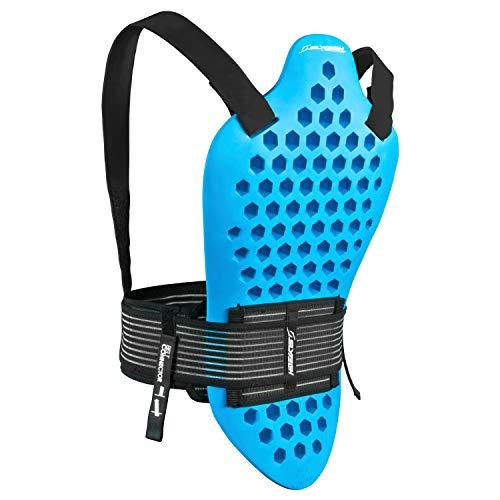 Slytech Rückenprotektor Backpro Noshock XT Naked, Blue, XL