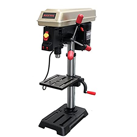 Bucktool Drill Press 10 inch 5 Speed Laser Track Guided Bench