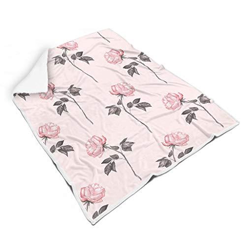 Zhenxinganghu Thermisch bont pluche deken voor bed All Season Square blankets voor kinderen zonneschijn stijl