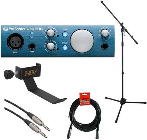 1 year warranty PreSonus AudioBox iOne cheap USB 2.0 Interface Microp Recording with