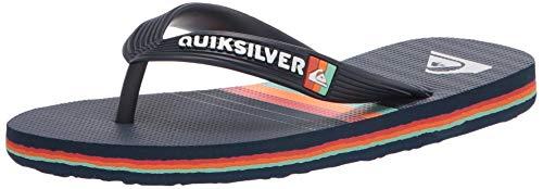 Quiksilver Molokai More Core Youth 3 Point Sandal para chico Molokai More Core Youth 3 Point Sandal, color, talla 13