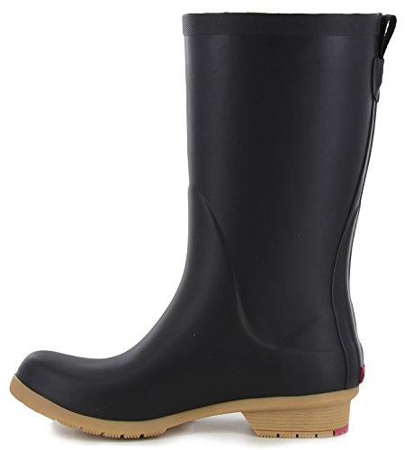 Bainbridge Fleece Lined Rain Boot, Black, 9 M US