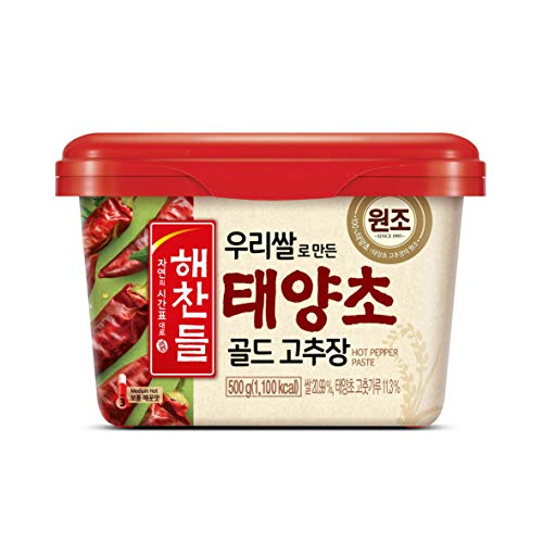CJ Haechandle Chilischotenpaste 500g - Gochujang (mittelscharf)