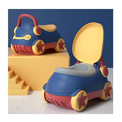 zlw-shop Orinal Bebe De los niños for IR al baño WC/Loo IR al baño de los niños, el Asiento de tocador del bebé con Asientos Acolchados PU, Coches Trainer WC for niños de 0-6 años Orinal Infantil
