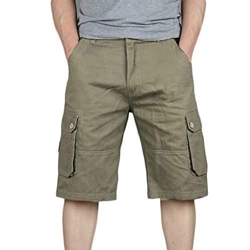 BYSTE_Uomo Attrezzature per arbitri e Allenatori,Costumi da Bagno,Pantaloni Uomo Invernali Eleganti,Giallo,EU:100