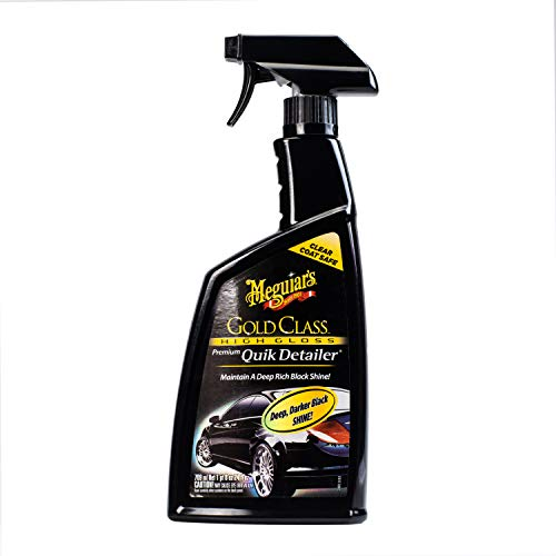 24oz Meguiar's  Gold Class Premium Quik Detailer  $5.97 at Amazon