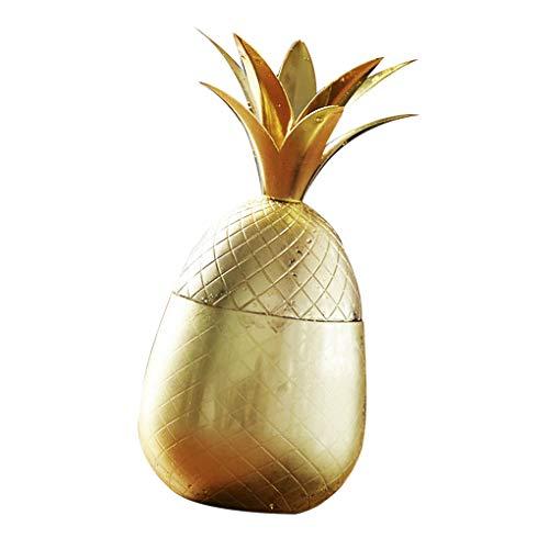 500ml ananas beker mok wijn drinkbeker bier ananas beker beker, wijn drinken drinken sap mok roestvrij stalen staaf gereedschap, verguld