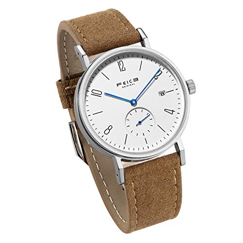 Bauhaus Watch Men's Automatic Watch FEICE Mechanical Wristwatch...