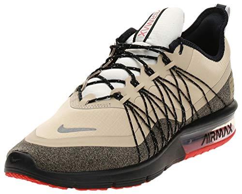 Nike Air Max Sequent 4 Utility, Chaussures d'Athlétisme Homme, Multicolore (Thunder Grey/Volt Glow/Amarillo/Black 004), 43 EU