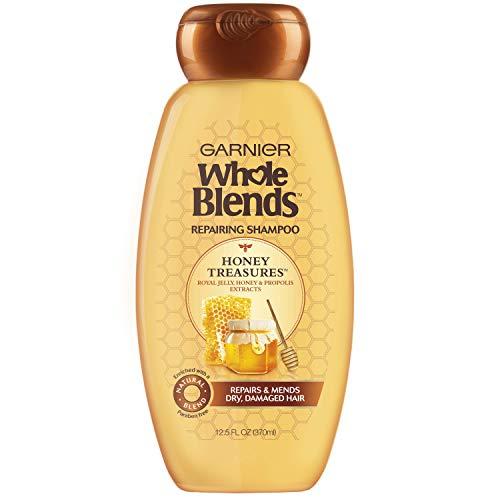 Garnier Whole Blends Repairing Shampoo, Honey Treasure, 370ml