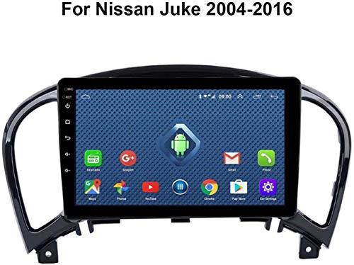 """Für Nissan Juke 2004-2016 mit Canbus 9 """"Auto-GPS-Navigationssystem Satellite Navigator Spieler Tracker Bluetooth WiFi Autoradio-hintere Kamera-Screen-Spiegel-Verbindung,WiFi,1+16G"""