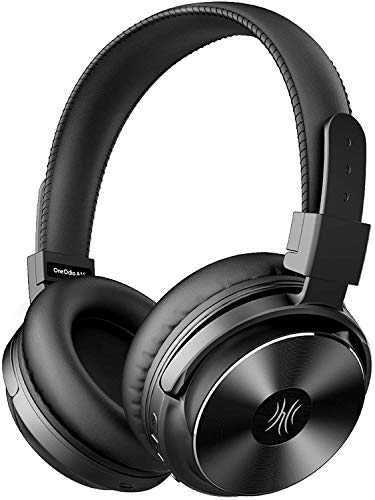 OneOdio Auriculares Bluetooth A11, inalámbricos sobre la oreja con modo de bajo ecualización, sonido estéreo de alta fidelidad...