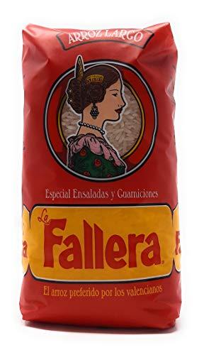 La Fallera, Riso Chicco Lungo, Riso per Insalate e Contorni, 1 kg