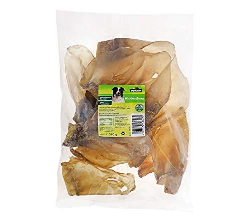 Dehner Hundesnack, Rinderohren, 660 g