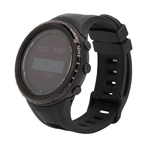 Montre-Bracelet numérique Multifonction pour extérieur - Altimètre, baromètre, podomètre, Boussole, étanche à LED