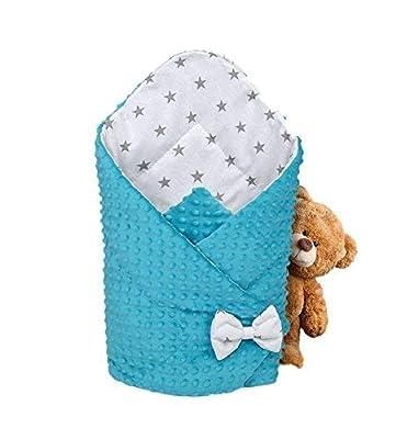Saco de Dormir para bebé de - Manta de niño pequeño de Dormir, invierno, para durante todo el año, Saco de algodón Minky reversible para envolver