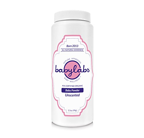Babylabs - Polvo orgánico sin talco sin perfume para bebé