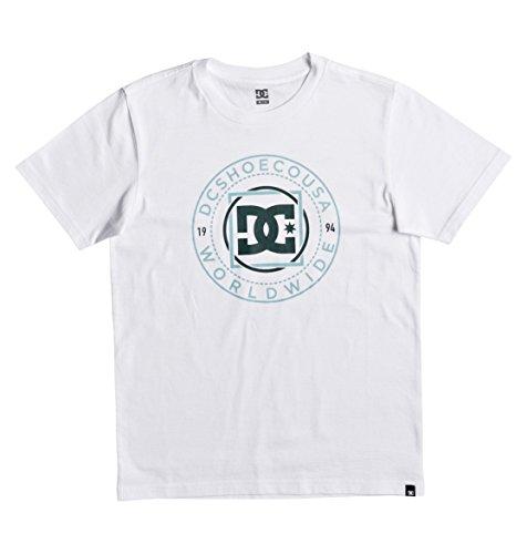 DC Shoes Frontier Chemise, Enfant L Blanc (Bright White Solid)