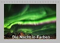 Die Nacht in Farben (Tischkalender 2022 DIN A5 quer): Erleben Sie die Naechte in Norwegen als Naturschauspiel. (Monatskalender, 14 Seiten )