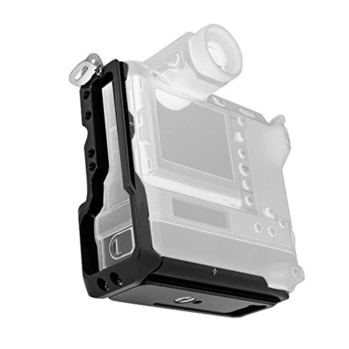 VBESTLIFE L字型クイックリリースプレート カメラ撮影用 L型ブラケットマウントカメラハンドグリップ 富士GFX100用