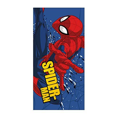 ARDITEX SM12664 Toalla Microfibra 70x140cm Marvel-Spiderman