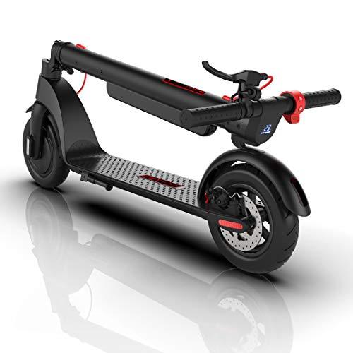 Nexity Monopattino Elettrico X8 Sonic 2021 | Batteria Rimovibile 12,8Ah Giapponese | Autonomia 45 Km | Motore 350W | velocità Max 32 Km/h | Ruote Maggiorate 10...