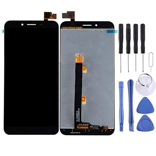 Mingxian Pantalla LCD y digitalizador Asamblea Completa for ASUS ZenFone 3 MAX / ZC553KL (Negro) (Color : Black)