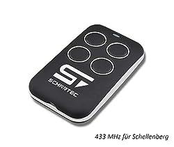 Ersatz Handsender f/ür Schellenberg Garagentorantrieb 4333 MHz passt zu SMART Drive Funk Fernbedienung