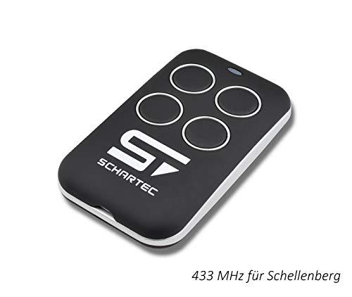 Ersatz Handsender für Schellenberg Garagentorantrieb 4333 MHz passt zu SMART Drive Funk Fernbedienung