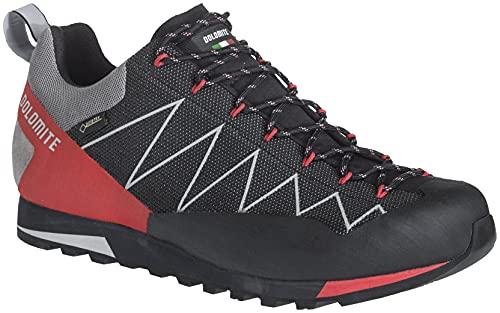 Dolomite Zapato CRODAROSSA Lite GTX 2.0, Scarpe da Ginnastica Unisex-Adulto, Nero, Rosso (Fiery Red), 41.5 EU