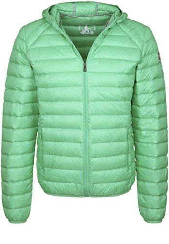 JOTT Chaqueta de plumón Nico con capucha para hombre verde XXXL