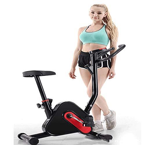 Pedales bicicleta estatica Bicicleta estática, hogar silencioso control magnético de bicicleta estática, Cubierta De Pantalla Con la bici electrónica de LED y ajuste de la resistencia (Pantalla LED: S