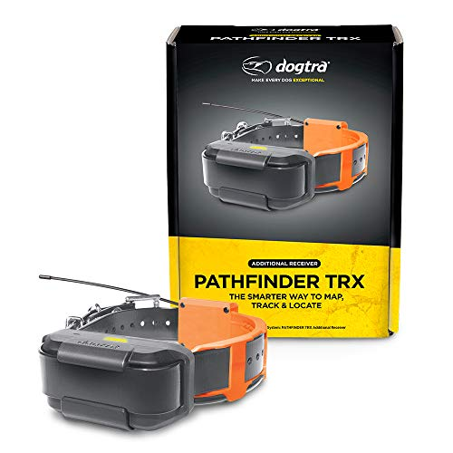 %26 OFF! Dogtra Pathfinder TRX Additional Receiver 9-Mile 21-Dog Expandable Waterproof Smartphone GPS-Only Tracking Collar with 2-Second Update Rate, No Subscription Fee, Free Satellite Map