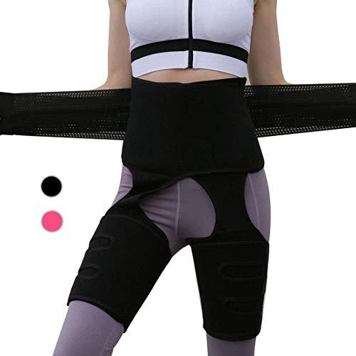 Newlemo Fascia Addominale Dimagrante, Cintura Dimagrante per Donna - 3 in 1 Fascia Dimagrante per Donna Dimagrimento e Modellamento del Corpo