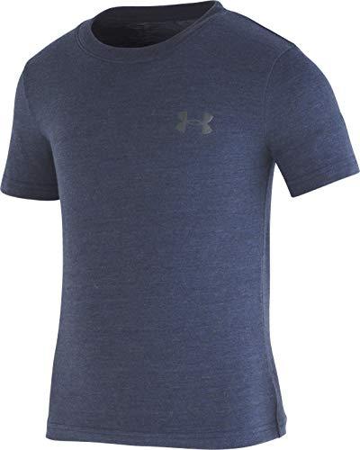 Under Armour Boys' Little Triblend T-Shirt, Academy-S19, 6