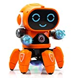 Toysery Bot Robot Pioneer   Comes with Colorful Lights and Music   Can Move Forward and Backward, Turn Left and Right   Ultimate Fun for Kids   Superior Materials