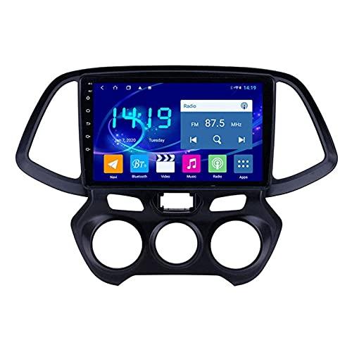 Reproductor Multimedia para Coche Sistema de navegación GPS para Hyundai Sandro 2018 Unidad Principal Pantalla táctil Auto Radio Estéreo Sat Nav con Mirrorlink Bluetooth + WiFi USB Receptor