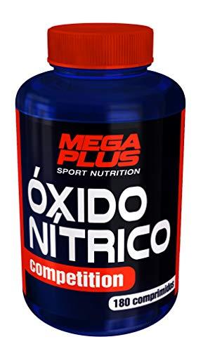 MEGA PLUS ÓXIDO N͍TRICO COMPETITION (COMPRIMIDOS DE ARGININA ALFA-KETOGLUTARATO) - Complemento alimenticio a base de Arginina alfa-ketoglutarato - 180 Comprimidos