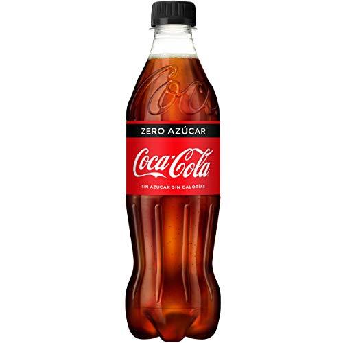 Coca-Cola - Zero, Botella de Plástico 500 ml - [pack de 12]
