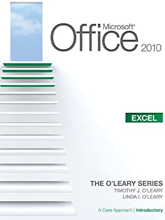 Microsoft® Office Excel 2010: A Case Approach, Introductory