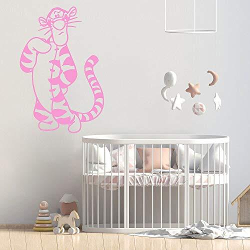 Animal oso etiqueta de la pared habitación de los niños niña etiqueta de la pared extraíble etiqueta de la sala de estar adolescente
