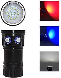 FEE-ZC Linterna portátil de Buceo súper Brillante Liviana XHP70/90 LED Fotografía Luz de Video Submarino 200M Impermeable Lámpara de antorcha táctica 2019