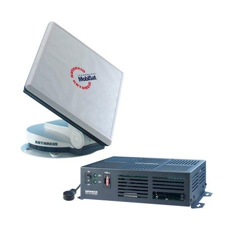 Kathrein Cap 210 MobiSet 2 Digitales Sat-Paket (Mobilausführung) bestehend aus Dreheinheit mit Flachantenne BAS 60 und UFD-170 Mobil-Receiver