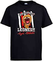 Camiseta qué Somos Leones Aupa Athletic fútbol Bilbao
