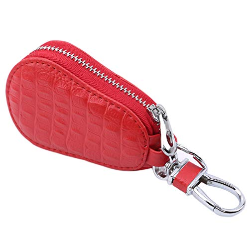 LGJJJ Leder Autoschlüssel Tasche Hoist Kreative Mini Reißverschluss Schlüsseltasche Schlüsselbund Anhänger Männer Und Frauen Allgemeine Schlüssel Hängen
