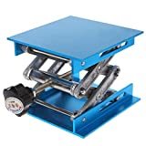 Duyummy 4'x4' Aluminium Frser-Hubtisch Holzbearbeitung Gravur Labor Heben Stand Rack