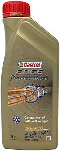 Olio motore Castrol EDGE Professional LongLife III 5W-30 Titanium FST Litri 6