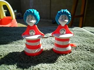 2003 Burger King Cat in the Hat Meal Toy: Thing 1 and Thing 2 Windup Toy
