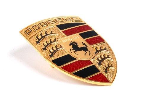 Porsche 99655921101 Genuine OEM Emblem
